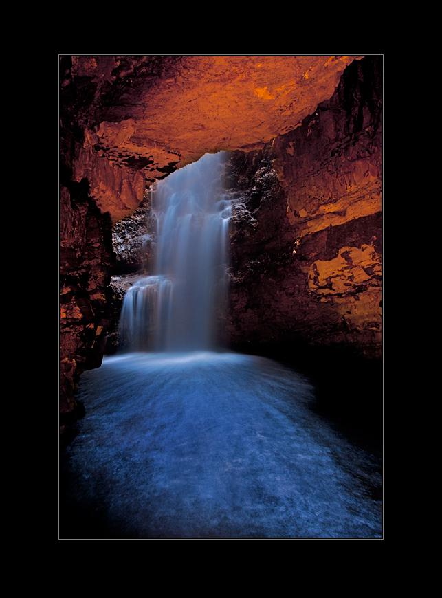 vodopád na řece Styx