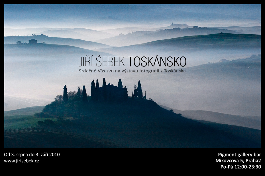 Jiří Šebek - Toskánsko