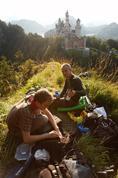 Pohoda u Neuschwansteinu :-)