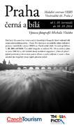 Pozvánka na výstavu Praha černá a bílá